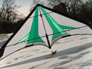Simply put, this kite is made for non-stop freestyle action and it'd be well suited for Trick's Party / competition flying. Experienced fliers will appreciate the good vertical rotation, multi Yo-yo's and unrolling will take just seconds.